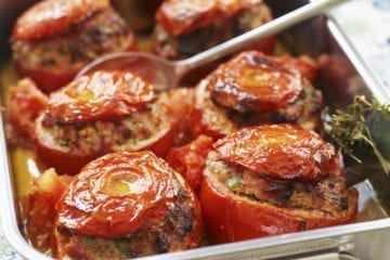 Stuffed tomatoes recipe french