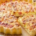 how to cook Quiche recipe tradiciotional french