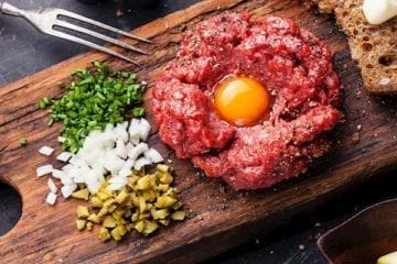 how to make Beef tartar french recipe